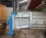 Extruder unit - Mouth diam. 850 + die CF2